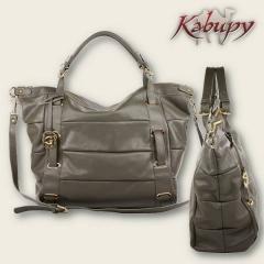 Maxi bolsa em couro - kabupy