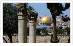 Conheça jerusalém de ouro com a companhia de viagem.