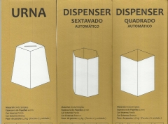 Urnas e dispensers