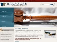 Criação de site bonadvogados - valinhos/sp