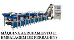 Máquina confecção kits ferragens