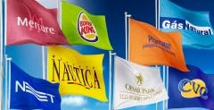 Bandeiras promocionais
