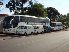 ônibus trucado e mini vans