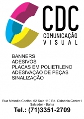 Cdc comunicação visual e sinalização - foto 12
