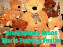 Amiguinhos ursos da maria fumaça festas - seu evento de forma diferente com essa turminha fofa...www.mariafumacafestas.com.br