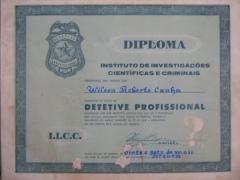 Meu primeiro diploma.
