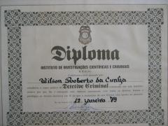Meu segundo diploma.