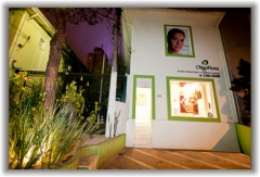 Oligoflora jardins estética - fachada