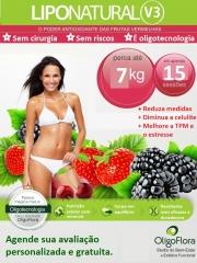 Lipo Natural V3 com Frutas Vermelhas - Sem cirurgia, sem riscos.