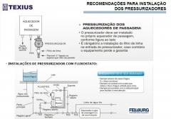Feeburg - recomendações de instalçaõ de pressurizadores