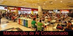 Vista de shopping ar condicionado pela treisc do brasil