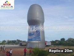 Fly balloon balões e infláveis promocionais - replica gigante inflável