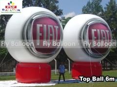 Fly balloon baloes e inflaveis promocionais - baláo top ball inflável