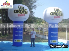 Fly balloon baloes e inflaveis promocionais - totem inflável promocional