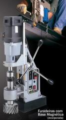 Furadeira com base magnética - euroboor