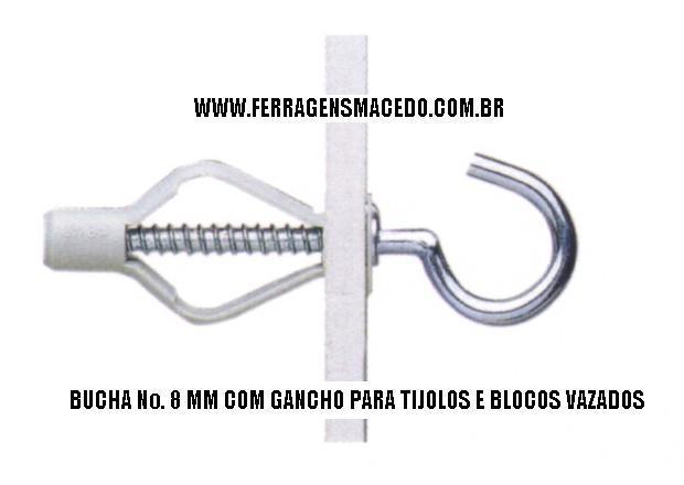 GANCHO PARA BUCHA TIJOLO FURADO