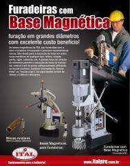 Furadeira com base magnetica euroboor