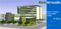 Maquete do futuro complexo do hospital beneficente portuguesa