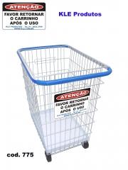 Carrinho de compras condominio 300l