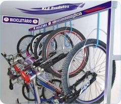 Bicicletario para 12 bicicletas