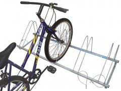 Bicicletario de piso para 5 bicicletas