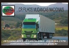 Foto 72 mudanças - Pequenas e Grandes Mudanças em Porto Alegre - cr Filhos Transportes Nacionais