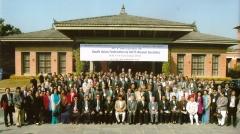 Membros da aots na convenção regional da federação das associações do sul da ásia, em kathmandu, no nepal, 2011.