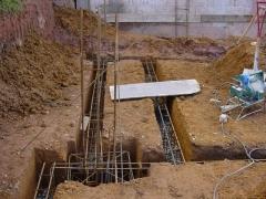 Construção de fundações