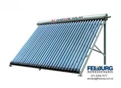 Coletor solar de tubo vácuo