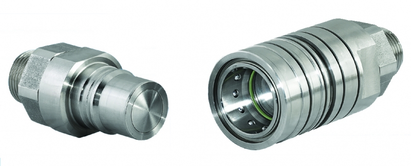 Acoplamento Clean-Break de baixa pressão (64Bar)_DN: 3,5,7,9,12 e 19mm
