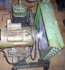 Bitzer -motor 2cv