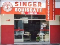 Singer squissatt  com. de máquinas de costura