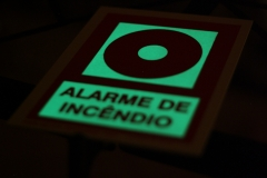 Placa fotoluminescente 1mm