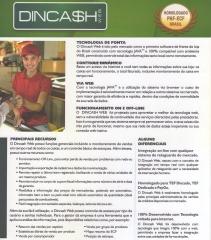 Software Dincash - Sistema de frente de loja(caixa)