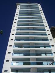 Edificio fountain hit construtora quadra  - maquete iluminada 1/50