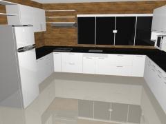 Projeto em mdf de cozinha