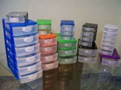 Só a plastpremium tem gaveteiros organizadores/ porque ambiente organizado vida organizada