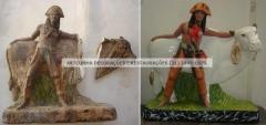 Restauracao de imagens sacras e religiosas (21) 2445-1929 artcunha restaura��es