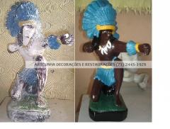 Restauracao de imagens sacras e religiosas (21) 2445-1929 artcunha restaurações
