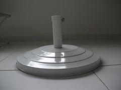 Base de cimento revestida em alumínio para ombrelones 2.40-3mt