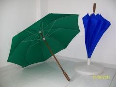 Guarda chuva de portaria aste em madeira 1.40m