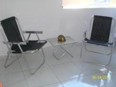 Cadeira alumínio-alta- master 130 kg