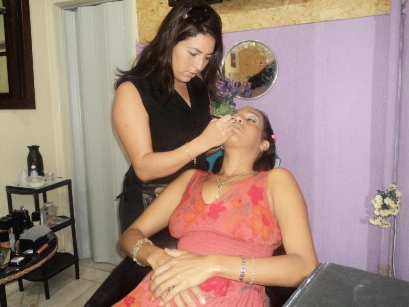 Evento de Maquiagem - Palestra Ministrada por Carlucia Oliveira