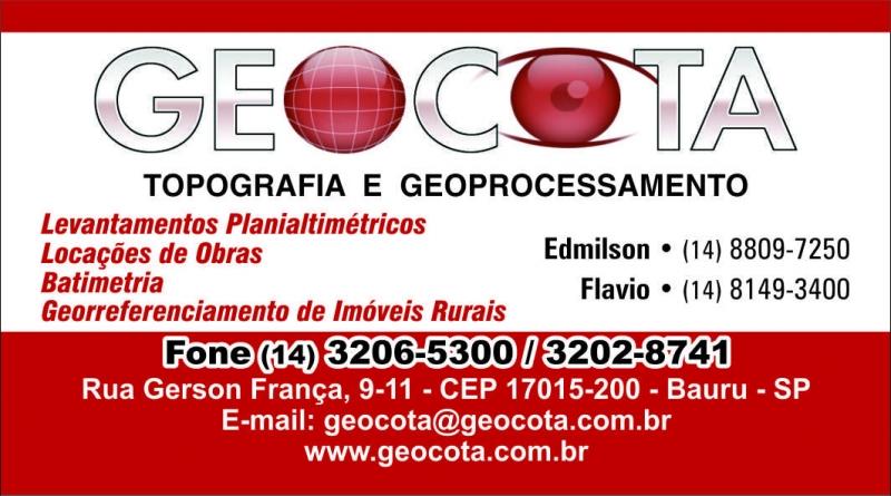 Geocota Topografia e Geoprocessamento