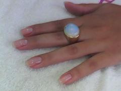 Mega hair (urias ferreira) e  unhas de gel  (mirian ferreira) unhas de fibra de vidro - foto 11