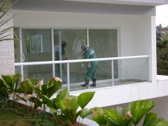 Limpeza fina pós obra - condominio arujá
