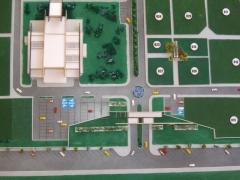 Construtora rover londrina - parque das allamandas maquete 1/400 (vista superior)