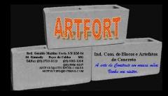 ARTFORT - INDUSTRIA DE BLOCOS E ARTEFATOS DE CONCRETO - Foto 1