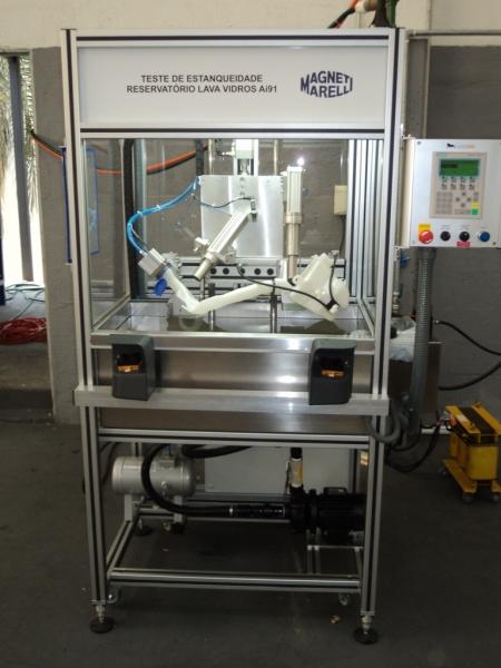 Máquina de Teste de Estanqueidade