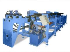 Alimentador automatico hidr�ulico de chapas para prensa